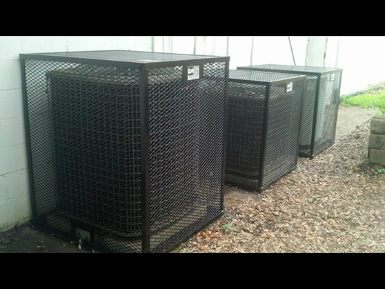 Multi unit hvac cage air conditioner hvac