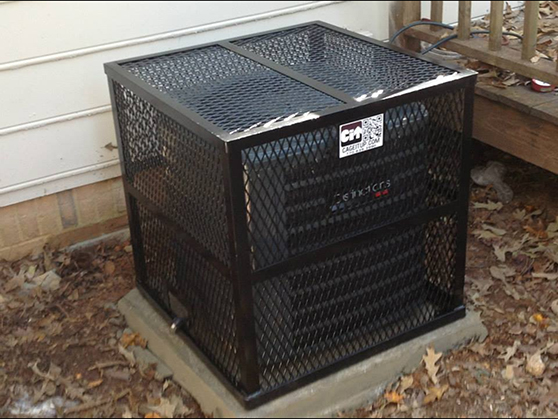 expanded metal hvac cage air condtionre two ton unit