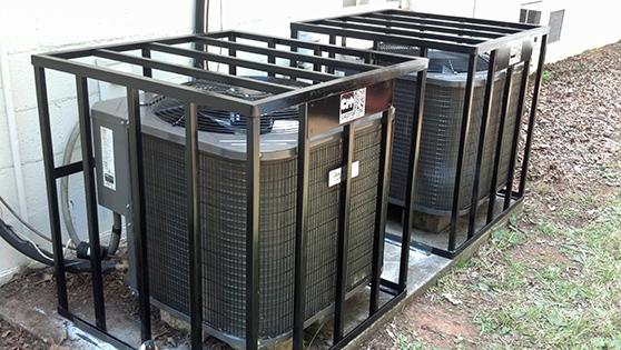 grandaire security hvac air conditioner copper theft