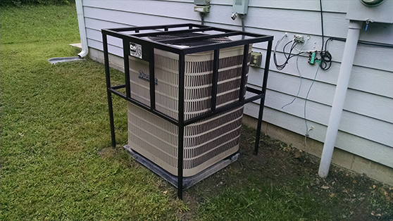 low cost security budget cage air conditioner hvac