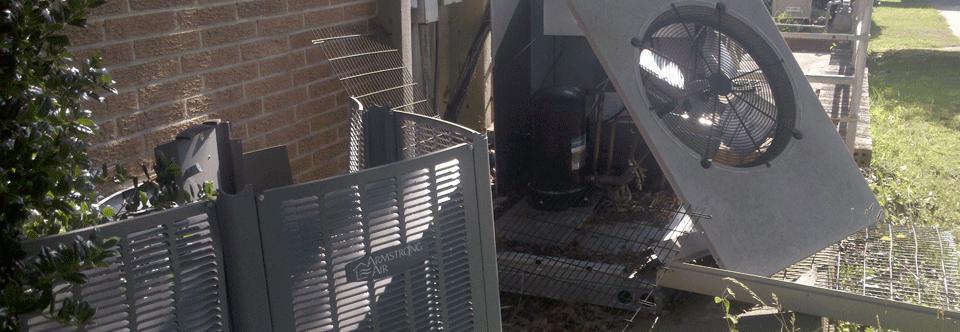Stolen HVAC