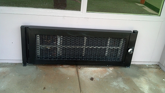 wall window air conditioner cage