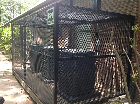 High security fence custom strong