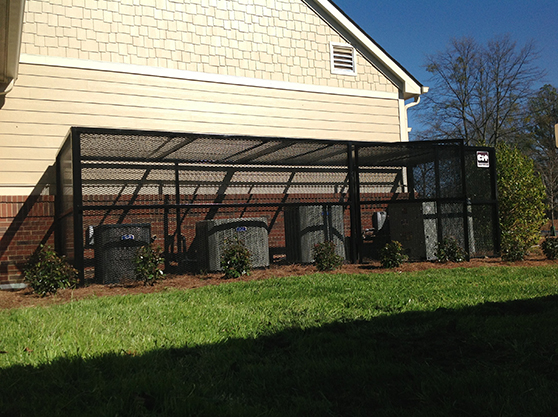 custom commerical fenceing high security
