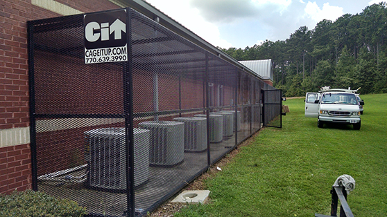 school air conditioners hvac copper theft copper line sets